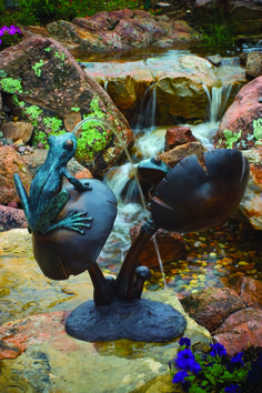 Bronze Frogs, Spitting Fountains, Fountains, Garden Art, Landscaping I…