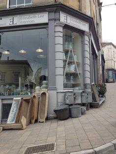 Elizabeth Lee Interiors Shop Window Display - Frome. www.elizabethleeinteriors.co.uk/
