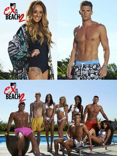 Cancun Floral Shorts featured in Ex On Beach MTV Series | Shop the collection at thomasroyall.com