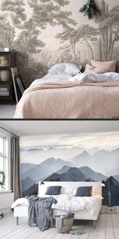 Papier peint panoramique : le guide pour adopter la tendance déco murale XXL (idées, conseils, shopping,...). Le papier peint panoramique, pour tous les styles, tous les budgets et toutes les pièces de la maison.