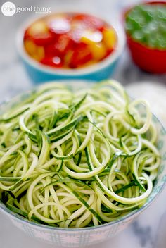 "Learn how to make your own healthy and delicious zucchini ""noodles""!"