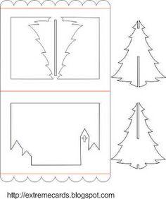 Arbre de Noël 3D pop