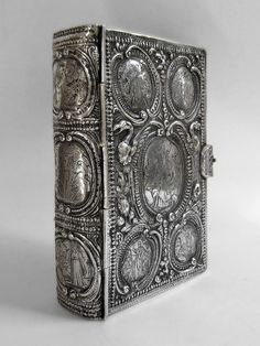 Silver book-cover for an 18th-century prayer-book