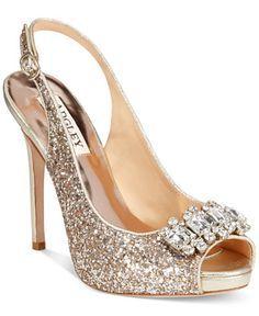Wedding Shoes - Badgley Mischka Adore
