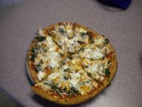 If you need help getting started start with just 1 recipe and take action.  http://www.mealplans101.com/recipes/spinach-chicken-mushroom-pizza-recipe/