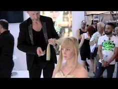 David Enciso, artiste coiffeur pour Raphaël Perrier, Education professionnelle - YouTube