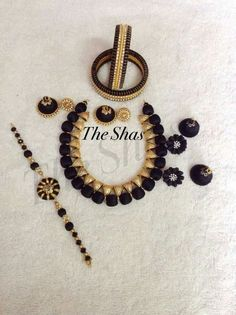Silk Thread Jumkas, Silk Thread Necklace, Silk Thread Bangles, Thread Jewellery, Necklace Set, Wedding Jewelry, Jewelry Collection, Jewelery, Fashion Accessories