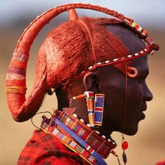 Maasai Tribal People Are Serious About Their Hair Check Out 14 Of Their Most Exotic Looks [Gallery] - Africa Maasai People, Africa People, We Are The World, People Around The World, Masai Tribe, Tribal People, African Tribes, African Culture, African Beauty