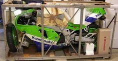 1990 Kawasaki-ZX-7R in the crate!