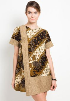model baju batik kombinasi