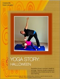 Use a Halloween inspired yoga story to help keep kids focused during the season. $3.50