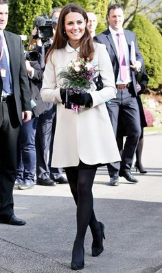Kate Middletons Royal Pregnancy Style: How the Duchess Is Dressing Her Baby Bump: Cream of the Crop