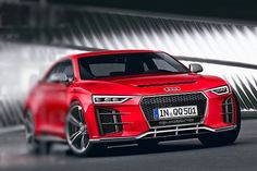 Audi Revived Quattro Sport With a 600hp Engine!