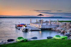 Magical waterfront deck completes a rejuvenating retreat [Design: Hutten & Co Landscaping]