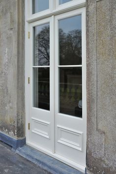 View images of The Sash Window Workshop's previous work replacing timber French doors. French Doors Bedroom, French Door Curtains, French Doors Patio, Narrow French Doors, French Windows, External French Doors, External Doors, Sash Windows, Windows And Doors