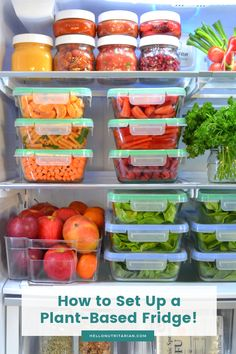 The Eat to Live Fridge Tips to help you make your fridge a tool for healthy-eating success! Learn the 12 key items for your Eat to Live fridge and get free helpful printables! Fridge Storage, Refrigerator Organization, Kitchen Organization Pantry, Organization Ideas, Organize Fridge, Small Space Organization, Kitchen Storage, Healthy Meal Prep, Healthy Snacks