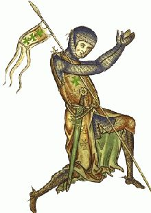 Medieval picture of a Knight of St Lazarus of Jerusalem, Shadow Of Night, A Discovery Of Witches, All Souls Trilogy