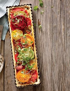 ... Tomato Tart on Pinterest | Heirloom Tomatoes, Tomatoes and Tarts