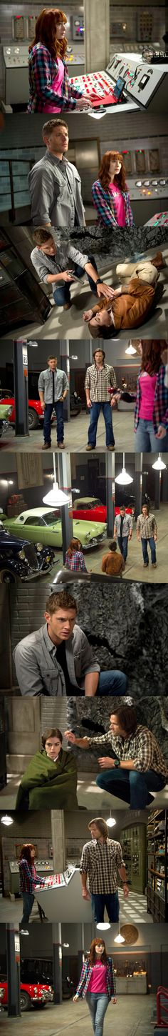 "Supernatural 9x04 ""Slumber Party"" CHARLIE COMES BACK SOON WHAAAAAA! :)))"