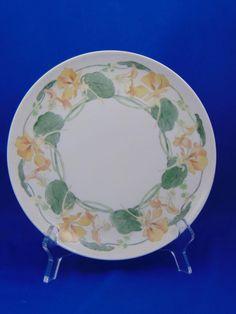 Haviland Limoges Arts & Crafts Nasturtium Motif Plate (Signed/c.1894-1931)