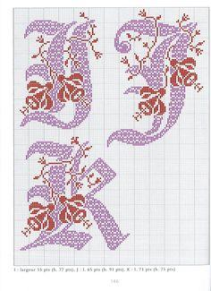 http://muchosgraficospuntodecruz.blogspot.com.es/2013/04/iniciales_3.html
