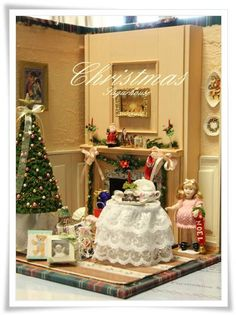 Christmas Doll House - Sato ~ Blog Umama
