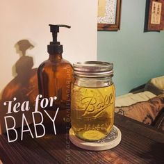 I'm sure moms everywhere know all about gripe water and it's amazing ability to help out with a gassy/colicky baby, but just plain chamomile tea does wonders for Charlie! She's currently milk drunk after I put some of the tea in her bottle.  Oh and she sleeps for 8 hrs straight!   How I make it: Fill half a mason jar with hot water. Steep one bag of chamomile tea (pure/no caffeine) for 10 min. Fill the rest of with room temp or cool water.  I give her 1-2 oz at a time either mixed in her…