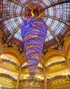 2014 Christmas Tree, Galeries Lafayette, Paris