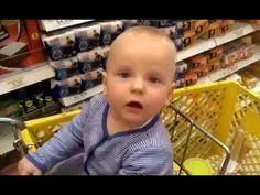 Вика танцует в тележке супермаркета. Детский канал Viki Land #14