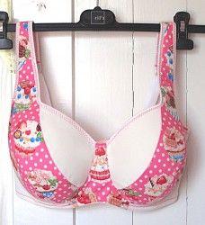 Sewing Bra #DL02 - Detailed Instructions - Make Bra — Make Bra