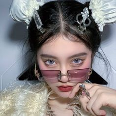 Korean Girl Photo, Cute Korean Girl, A Love So Beautiful, Beautiful Person, Aesthetic Eyes, Aesthetic Girl, Cute Girl Pic, Cute Girls, Cute Makeup