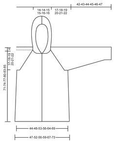 """Von oben nach unten gestrickte DROPS Jacke in """"Alpaca"""" und """"Kid-Silk"""" mit Raglanärmeln, Kapuze und Strukturmuster. Größe S - XXXL."""