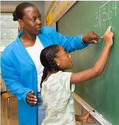 Black Teacher Teaching
