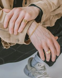 YUCCA RING | BLANK Gold Chains, Rings For Men, Bracelets, Silver, Jewelry, Men Rings, Jewlery, Jewerly, Schmuck