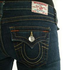 dont own any but want a pair of these true religion jeans $172 though eekkk