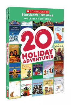 Make it a family night by snuggling by the fireplace to watch a few or all of these DVDs.
