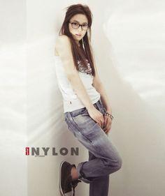 SONG HYE-KYO / LEVIS / NYLON KOREA