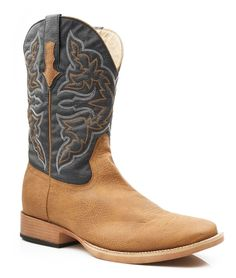 Loving this Roper Tan Traditional-Stitch Cowboy Boot - Men on Cowboy Boots Women, Cowgirl Boots, Western Boots, Riding Boots, Western Cowboy, Cowgirl Tuff, Men's Boots, Cowgirl Style, Western Style