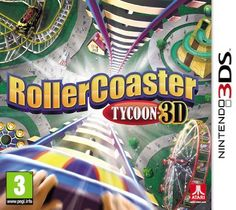 Rollercoaster Tycoon 3D (Nintendo 3DS) - http://www.cheaptohome.co.uk/rollercoaster-tycoon-3d-nintendo-3ds/  Rollercoaster Tycoon 3D (Nintendo 3DS) Short Description Create the ultimate amusement park in the next installment of the hit RollerCoaster Tycoon franchise. It's time to learn the ropes of the family business and get a foothold in the theme park world at the Rocket Coaster Company. Take on jobs, help design coasters and manage your own theme parks as you work