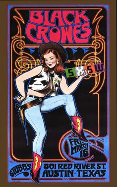 $13.45 - Black Crowes - Wall Poster - 24 In X 15 In - Fast Shipping In Tube #ebay #Electronics