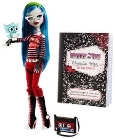 Monster High Ghoulia Yelps Doll with Pet Owl Sir Hoots A Lot by Mattel, http://www.amazon.com/gp/product/B0045VW602/ref=cm_sw_r_pi_alp_aJ9Fpb0X9TNSF