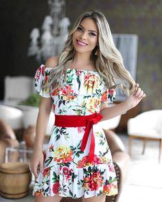 """""""B͟͟E͟͟ H͟͟A͟͟P͟͟P͟͟Y͟͟ Sendo feliz com a marca Carioca que amo a @zinzane_brasil ! Esse dress @zinzane_brasil ombro a ombro está lindo e alegre com a…"""""""