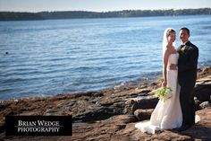 Sheri & Nate: Spruce Point Inn Wedding
