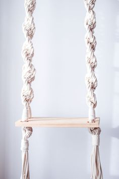 Macrame Swing via CASULO ✳ Wall Art