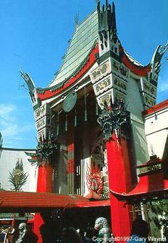 Grauman's Chinese Theatre ~ Hollywood, CA