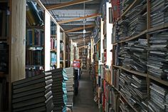 John K. King Used & Rare Books, Detroit, Michigan, USA. The store is located in a former glove factory and has an estimated 1 million books in stock, with a large collection of rare and used titles. There are four above-ground floors and a basement open to customers. It's one of the largest bookshops in North America.