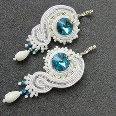 Soutache Jewelry Wedding Earrings Bridal Earrings #soutache #jewelry #jewellery #earrings #bridal #wedding #bride #brides #accessory #elegant #victorian #shiny #handmade #etsyshop #etsyseller #etsysellers #etsybuyer #etsybuers #etsyshopper #etsyshoppers #shoppingtime #christmas #xmas #christmasgift #xmasgift #birthdaygift #birthday #birthdaypresent #present