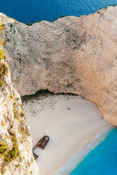 Navagio beach, Zakynthos island ~ Greece. A truly unforgettable place!