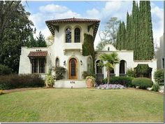 Mediterranean Style Home Ideas Exterior House Color