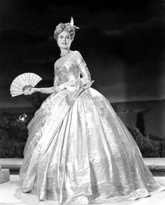 "Costume designed by Edith Head for Grace Kelly in ""To Catch a Thief"" (1955)"